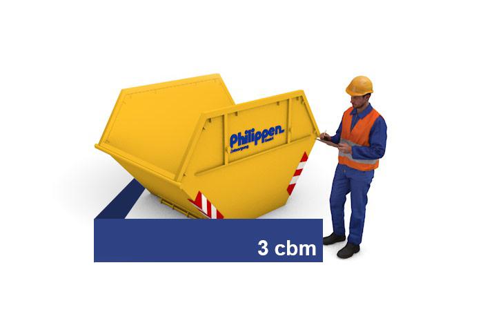 3 cbm Container